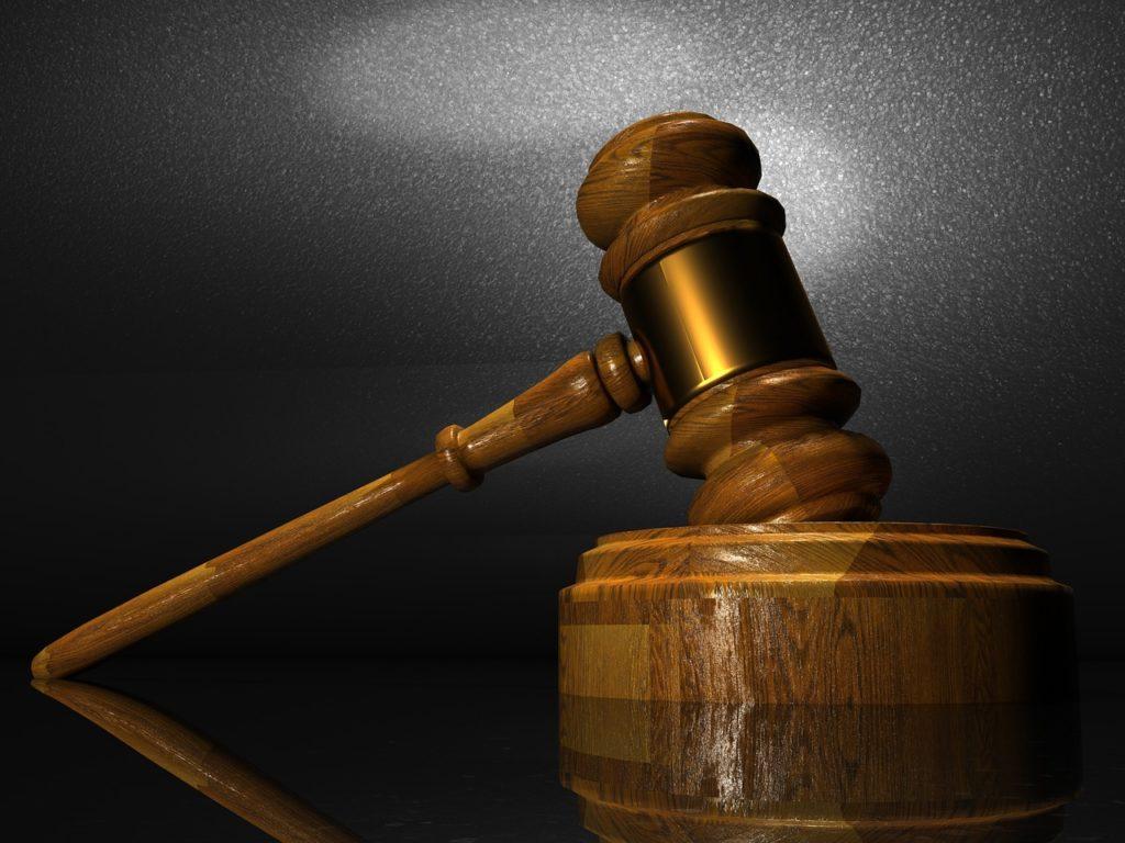 裁判時の槌と台